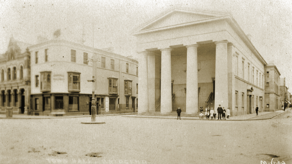 Bridgend Town Hall early 1900s