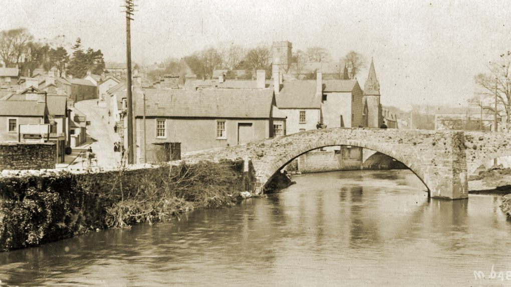 The Old Bridge, Bridgend in the early 1900s